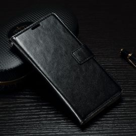 Кожен калъф хоризонтален тефтер за Sony Xperia XA