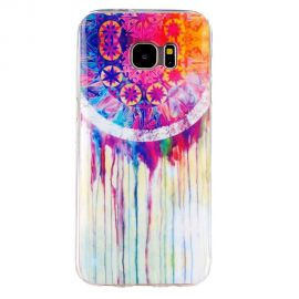 Силиконов гръб шарен за Samsung Galaxy S7 Edge
