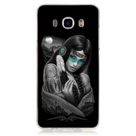 Силиконов гръб шарен за Samsung Galaxy J5 2016