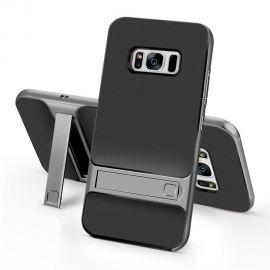 Хибриден PC гръб с kick-stand стойка за Samsung Galaxy S8+ Plus