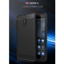 Силикон гръб Carbon за Nokia 6