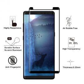 Протектор за целия дисплей от закалено стъкло за Samsung Galaxy Note8 N950