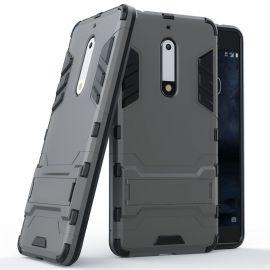 Хибриден PC гръб с kick-stand стойка за Nokia 5