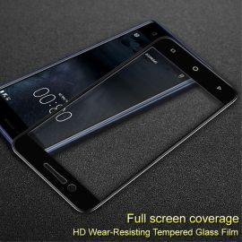 3D Full протектор за целия дисплей от закалено стъкло за Nokia 3