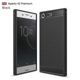 Силикон гръб Carbon за Sony Xperia XZ Premium