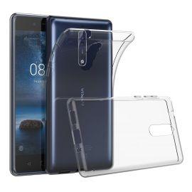 Ултра слим силиконов гръб за Nokia 8