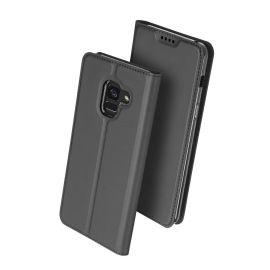 Луксозен кожен калъф за Samsung Galaxy A8+ Plus 2018 A730