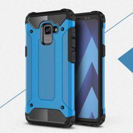 Противоударен калъф Metal Carbon за Samsung Galaxy A8 2018 A530