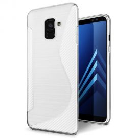 Силиконов калъф S-Line за Samsung Galaxy A8 2018