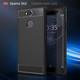 Силикон гръб Carbon за Sony Xperia XA2
