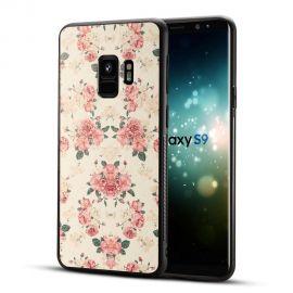 Силиконов гръб шарен за Samsung Galaxy S9