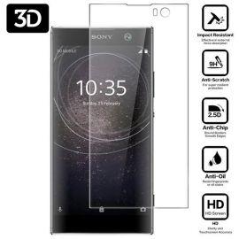 3D Full протектор за целия дисплей от закалено стъкло за Sony Xperia XA2