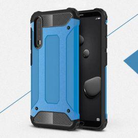 Противоударен калъф Metal Carbon за Huawei P20 Pro