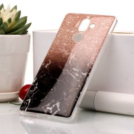 Силиконов гръб шарен за Nokia 7 Plus