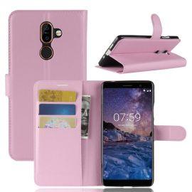 Кожен калъф хоризонтален тефтер за Nokia 7 Plus
