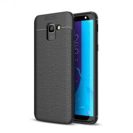 TPU гръб Leather за Samsung Galaxy J6