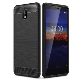Силикон гръб Carbon за Nokia 3.1 (2018)