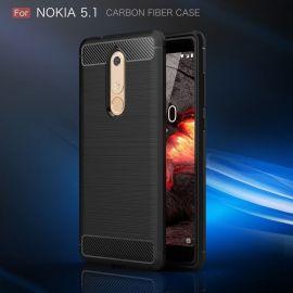 Силикон гръб Carbon за Nokia 5.1 (2018)