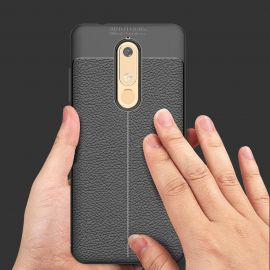 TPU гръб Leather за Nokia 5.1 (2018)