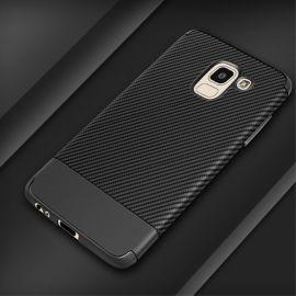 Силиконов карбонов гръб за Samsung Galaxy J6 (2018)