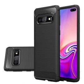Силикон гръб Carbon за Samsung Galaxy S10+ Plus G975