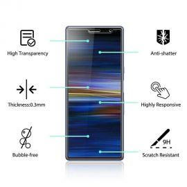 Протектор от закалено стъкло за Sony Xperia 10 Plus