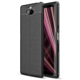 TPU гръб Leather за Sony Xperia 10