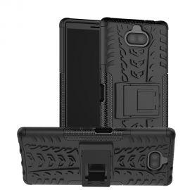 Хибриден PC гръб с kick-stand стойка за Sony Xperia 10 Plus