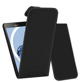 Кожен калъф вертикален тефтер за Sony Xperia Z