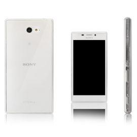 Ултра слим силиконов гръб за Sony Xperia M2 / M2 Aqua