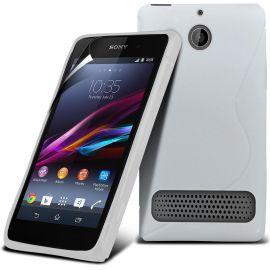 Силиконов калъф S-Line за Sony Xperia Е1