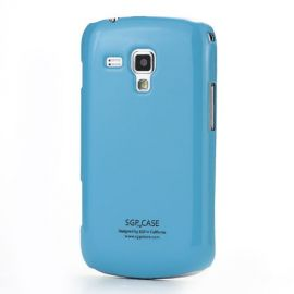 Пластмасов твърд гръб за Samsung Galaxy S Duos / Trend / Trend Plus