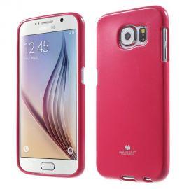 Силиконов гръб Mercury Glittery Powder за Samsung Galaxy S6 G920