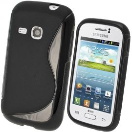 Силиконов калъф S-Line за Samsung Galaxy Young S6310