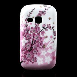 Силиконов гръб шарен за Samsung Galaxy Young S6310