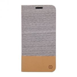 Луксозен хоризонтален кожен калъф за Samsung Galaxy S6 Edge+ Plus
