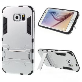 Хибриден PC гръб с kick-stand стойка за Samsung Galaxy S6 Edge