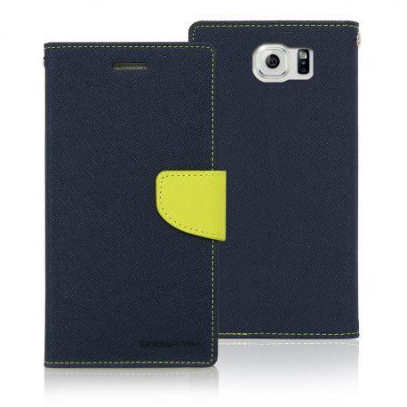 Mercury Fancy Diary кожен калъф за Samsung Galaxy S6 Edge Plus+
