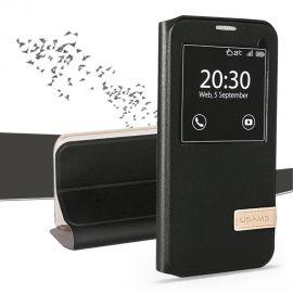 Кожен калъф с прозорец USAMS за Samsung Galaxy S7 G930