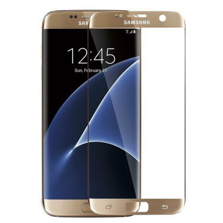 Протектор за целя дисплей от закалено стъкло за Samsung Galaxy S7 Edge