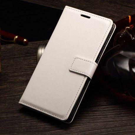 Елегантен кожен калъф флип за Sony Xperia M4 Aqua
