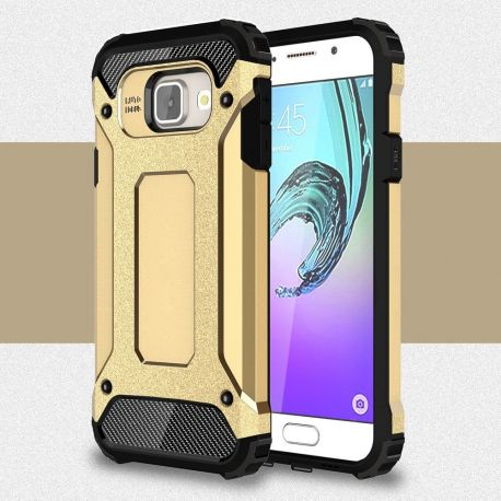 Противоударен калъф Metal Carbon за Samsung Galaxy A3 2016
