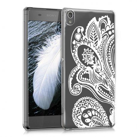 Силиконов гръб шарен за Sony Xperia XA