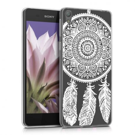 Силиконов гръб шарен за Sony Xperia E5