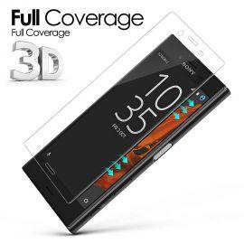 3D Full протектор за целия дисплей от закалено стъкло за Sony Xperia X Compact