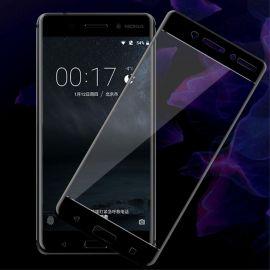 3D Full протектор за целия дисплей от закалено стъкло за Nokia 6