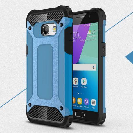 Противоударен калъф Metal Carbon за Samsung Galaxy A3 2017
