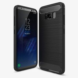 Силикон гръб Carbon за Samsung Galaxy S8+ Plus