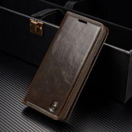 Луксозен кожен калъф CaseMe за Samsung Galaxy S8+ Plus