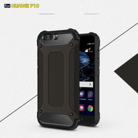 Противоударен калъф Metal Carbon за Huawei P10